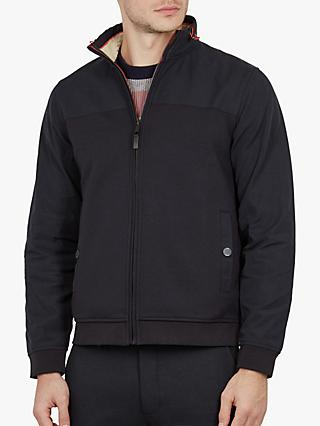 39440f83ee5 Ted Baker Dense Funnel Neck Jacket