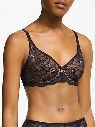 Triumph Amourette Charm Underwired Bra, Black