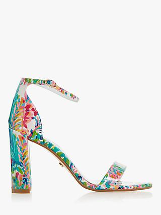 92310f4fe39 Dune Magnolia Block Heeled Sandals