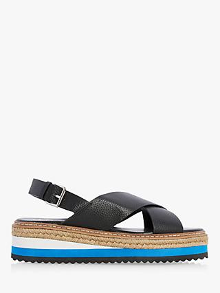 bd95f795067 Dune Karli Flatform Sandals