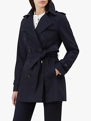 Hobbs Sara Mac Coat, Navy