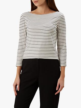 Hobbs Sonya Striped Top