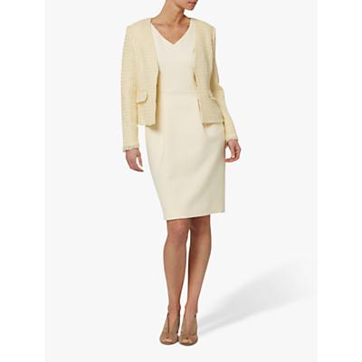 Helen McAlinden Sandy Boucle Jacket, Cream