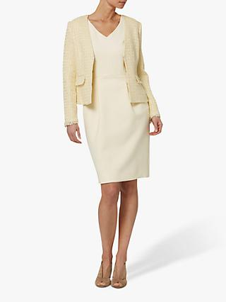 Helen McAlinden Sandy Boucle Jacket, Cream