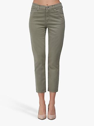 J Brand Ruby High Rise Cropped Jeans
