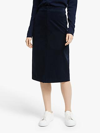 John Lewis & Partners Cord Pencil Skirt