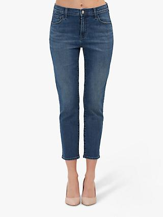 J Brand Ruby High Rise Cropped Jeans, Polaris