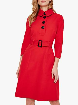 Damsel in a Dress Adie Button Detail Dress, Red