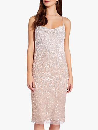 Adrianna Papell Beaded Slip Dress, Shell