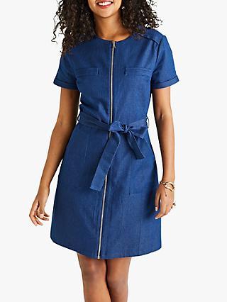 35f8d716c4 Yumi Denim Shift Dress