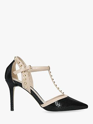 Carvela Wide Fit Kankan Stud Detail Court Shoes