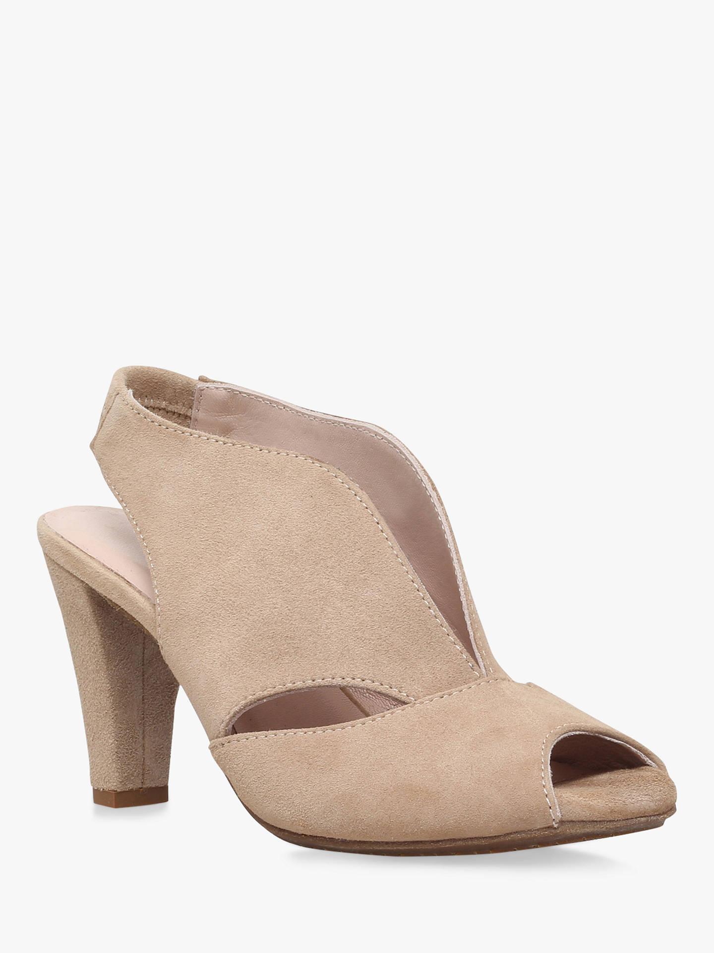 0ebfab95e2f Carvela Comfort Arabella Cone Heel Open Toe Court Shoes at John ...