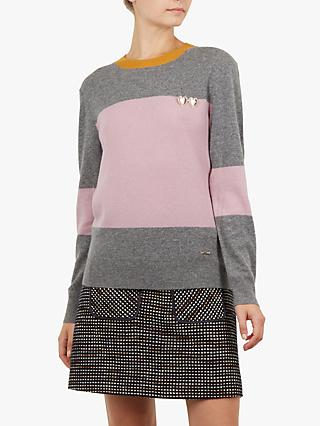 Ted Baker Bryonny Colour Block Jumper