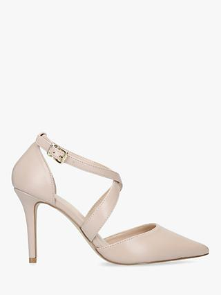 Carvela Kross Strap Stiletto Heel Court Shoes