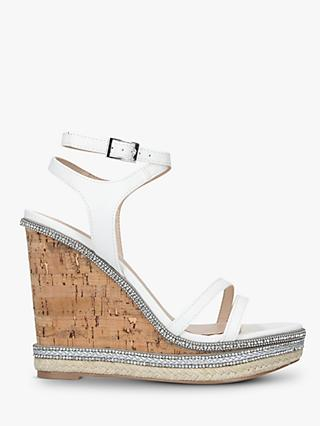 c60a1fea04d4a Carvela Gentle Embellished Strap Wedge Sandals