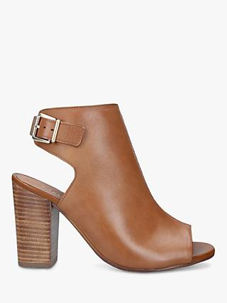 Carvela Sent Block Heel Open Back Sandals