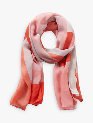 Betty Barclay Graphic Print Scarf, Pink