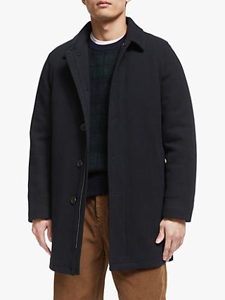 John Lewis & Partners Twill Car Coat