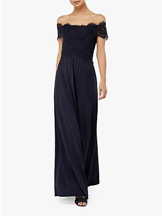 Monsoon Valerie Bardot Maxi Bridesmaid Dress 775808f9b8a5
