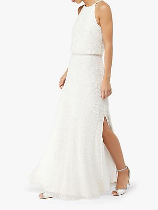 eeec914826 Monsoon Diana Embellished Bridal Maxi Dress