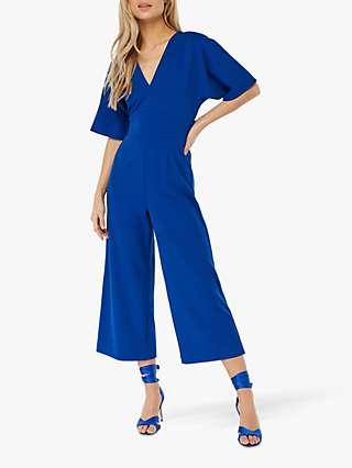 Monsoon Billie Culotte Jumpsuit, Blue
