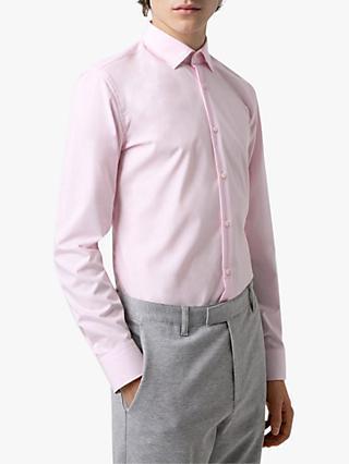 6e84737c HUGO BOSS | Pink | Men's Shirts | John Lewis & Partners