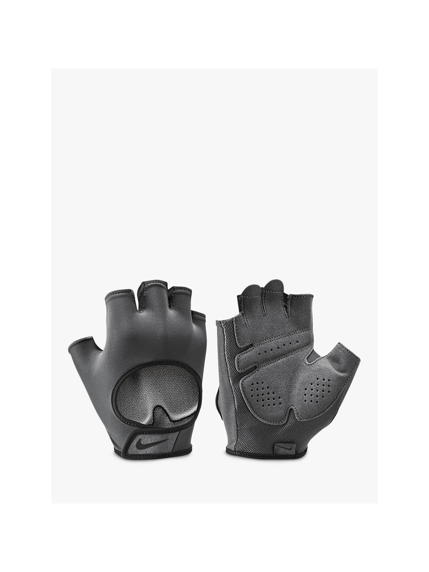 0ff98442fe Buy Nike Gym Ultimate Women's Training Gloves, Anthracite/Black, M Online  at johnlewis ...
