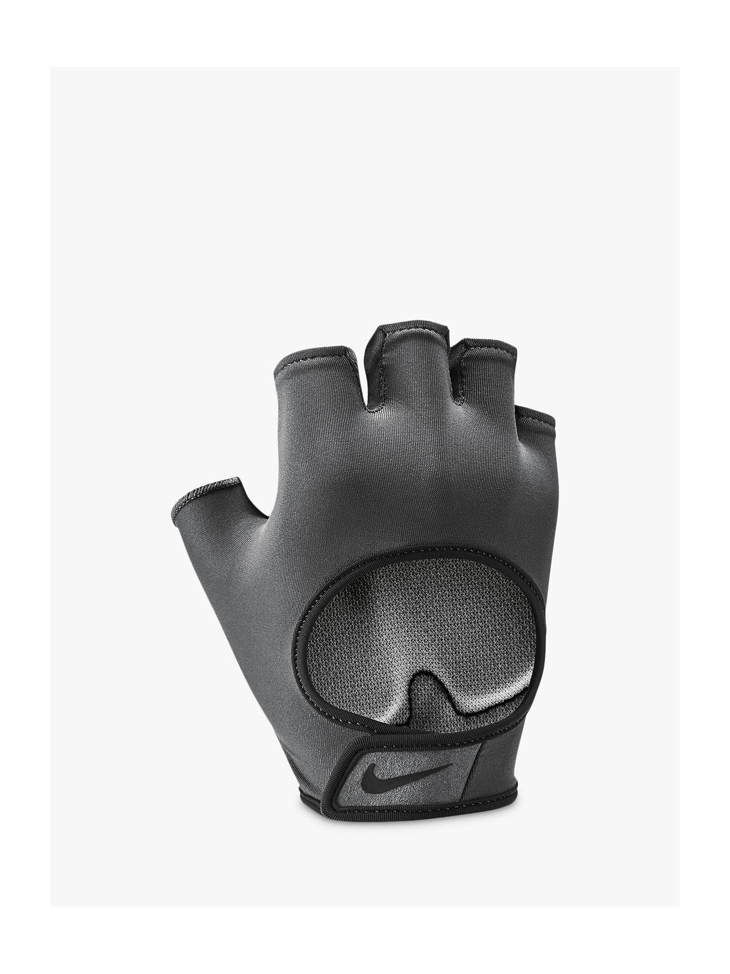 716ba3bec0 ... Buy Nike Gym Ultimate Women's Training Gloves, Anthracite/Black, M  Online at johnlewis ...