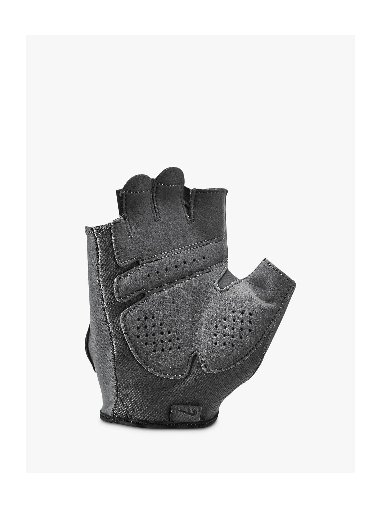 ce14a633b5 ... Buy Nike Gym Ultimate Women's Training Gloves, Anthracite/Black, M  Online at johnlewis