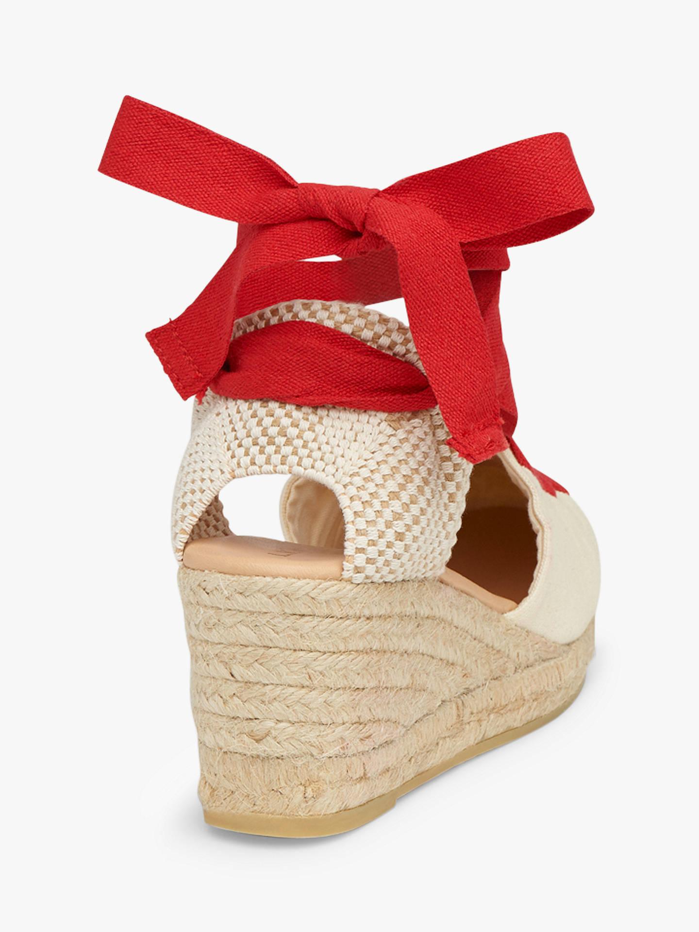 78cd5bb5f48 L.K.Bennett Martha Wedge Heel Sandals at John Lewis & Partners