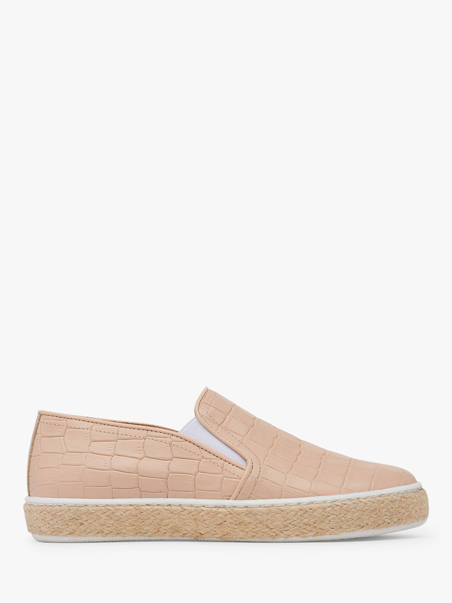 L.K.Bennett Juliana Slip On Plimsolls at John Lewis & Partners