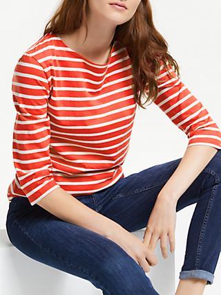 64312c789b Seasalt Sailor Stripe 3/4 Length Sleeve Jersey Top