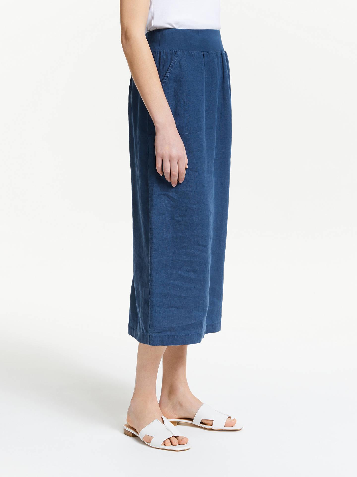 6413f35fe5 ... Buy Seasalt Angel Ray Linen Skirt, Night, 8 Online at johnlewis.com