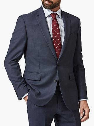 Chester by Chester Barrie Birdseye Wool Suit Jacket, Blue