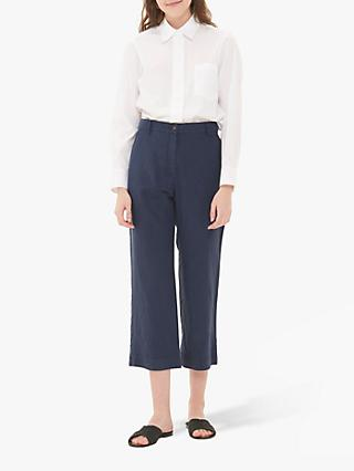 Gerard Darel Niame Cropped Trousers, Navy