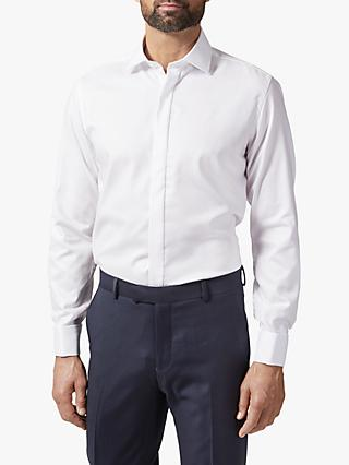 Richard James Mayfair Twill Shirt, White