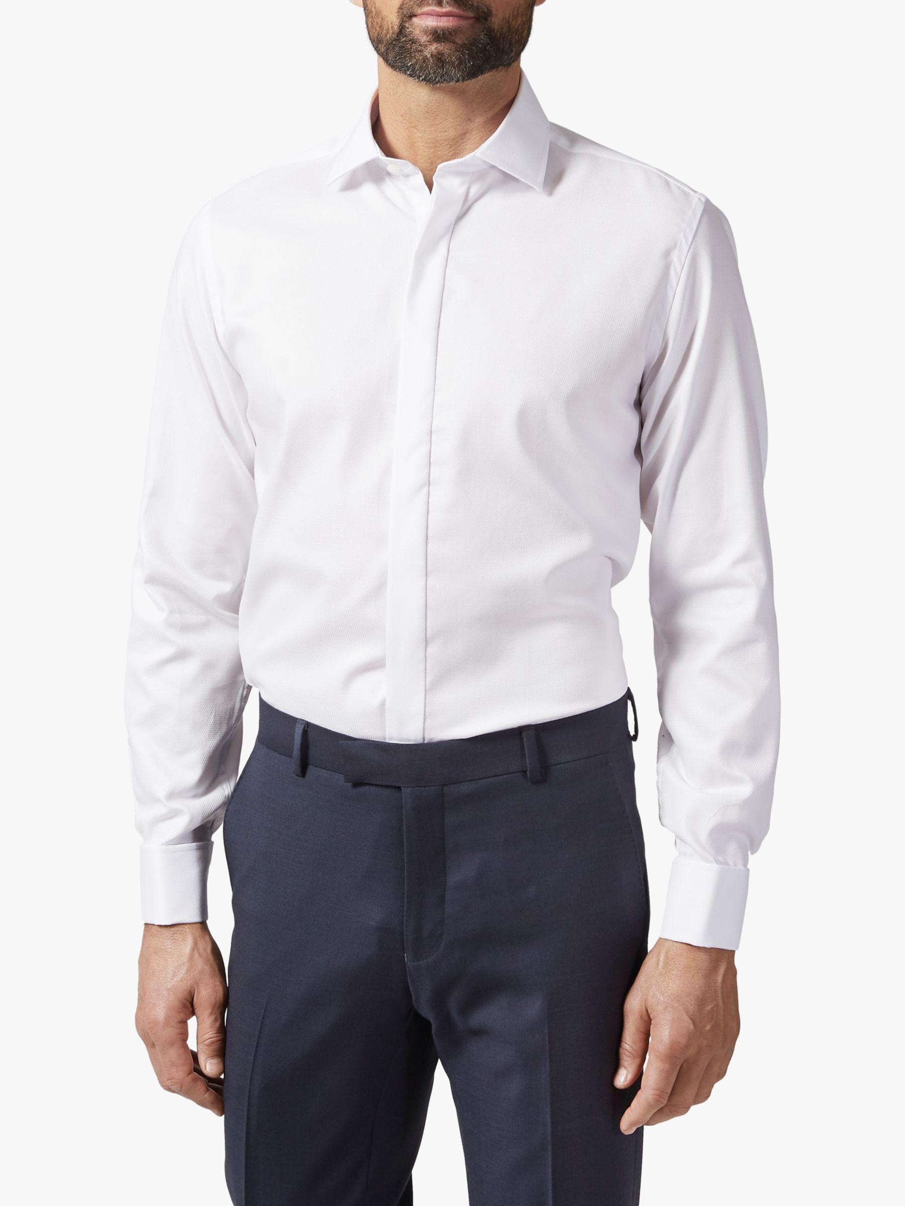 Richard James Mayfair Richard James Mayfair Twill Shirt, White
