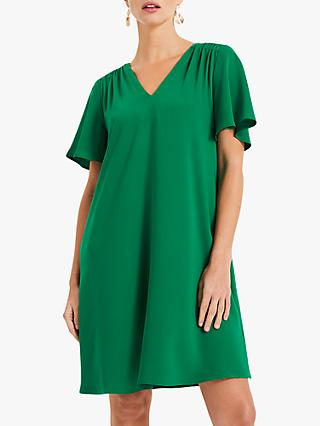 Phase Eight Rhonda Smock Dress, Palm Green