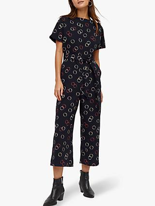 Warehouse Hula Spot Jumpsuit, Multi