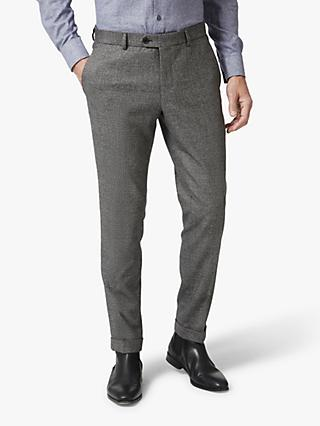 Richard James Mayfair Textured Trousers, Grey