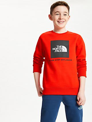 The North Face Boys' Sweatshirt, Red