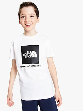 The North Face Boys  Box Logo T-Shirt 78451e29c68f2
