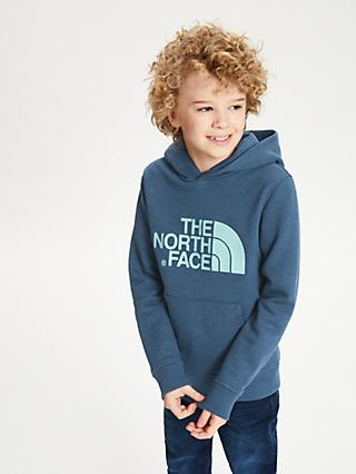 The North Face Boys' Logo Hoodie, Blue