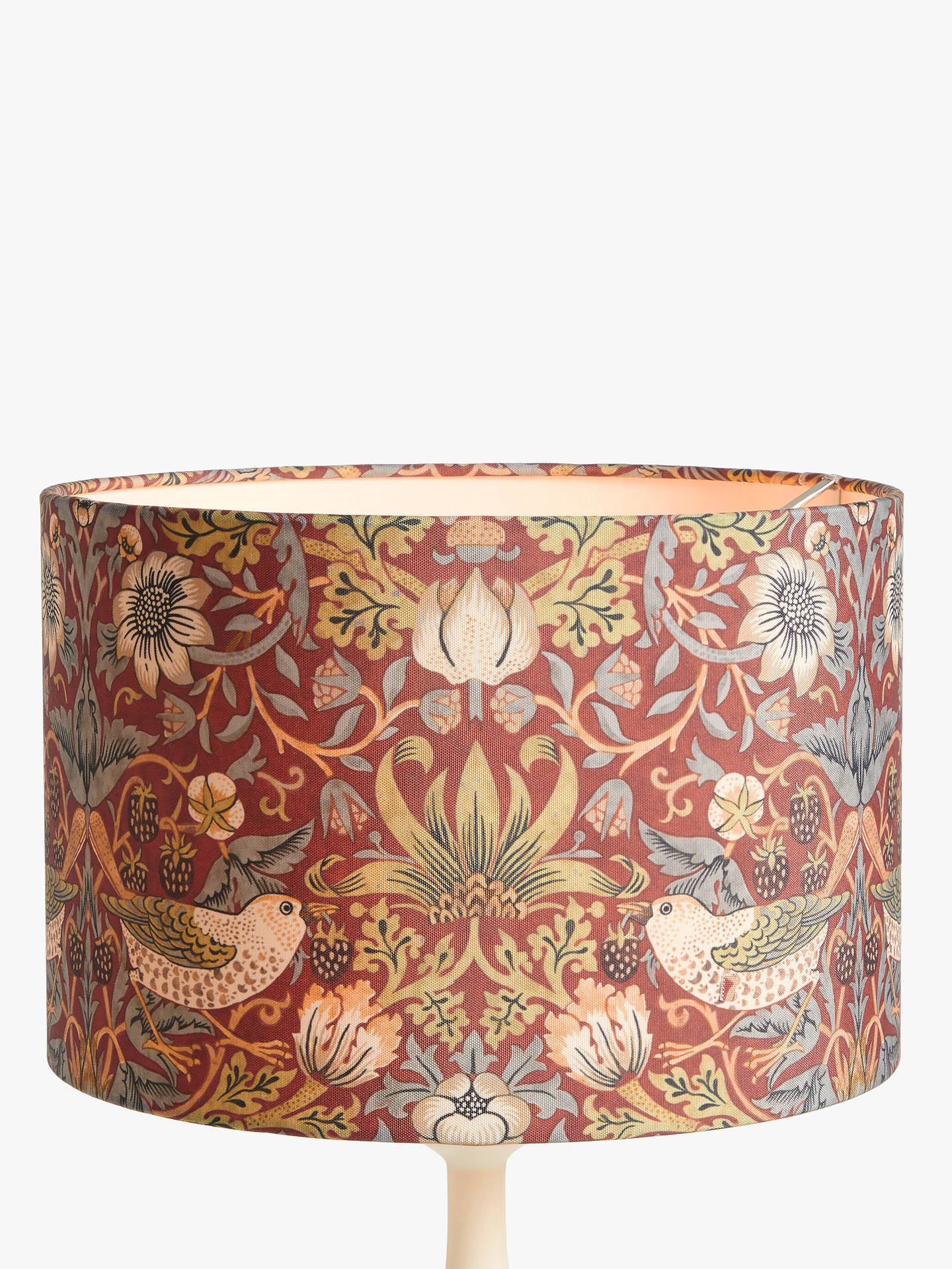 Morris Amp Co Strawberry Thief Lampshade At John Lewis Amp Partners