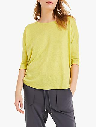 Phase Eight Linen Catrina Top, Narcissis