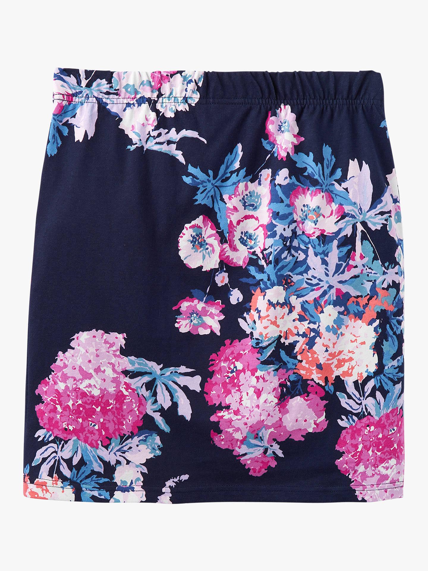 19d3cd29cf ... Buy Joules Portia Printed Pencil Skirt, Navy Floral, 6 Online at  johnlewis.com ...