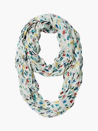 White Stuff Marble Hearts Snood, Multi