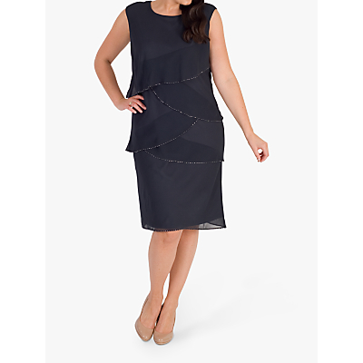 ad759323eaaf Chesca Layered Dress, Smoke - John Lewis & Partners at Westquay - Shop  Online
