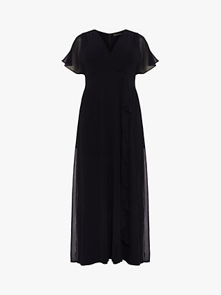 Studio 8 Phoenix Cap Sleeve Maxi Dress, Navy