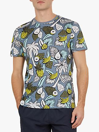 Ted Baker Walruss Tropical T-Shirt, Light Blue